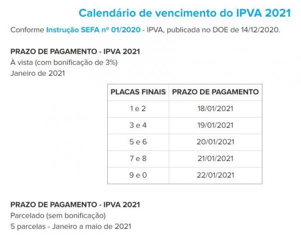 DETRAN PR / Consulta IPVA 2021 PR